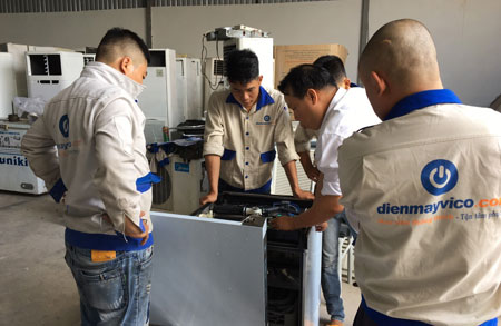 Bảo trì sửa chữa thiết bị